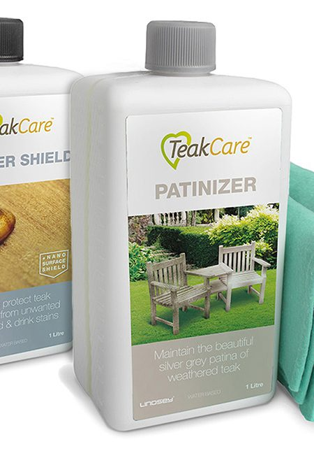 Teak Patinizer Sealer Shield Pack